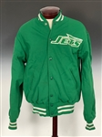Early 1980s Joe Namath New York Jets Team Sideline Jacket Given by Namath to Frank Sinatra