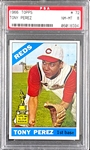 1966 Topps #72 Tony Perez (All-Star Rookie) - PSA NM-MT 8