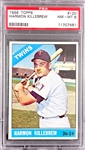 1966 Topps #120 Harmon Killebrew - PSA  NM-MT 8