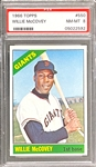 1966 Topps #550 Willie McCovey - PSA NM-MT 8