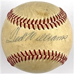 1960s Ted Williams Vintage Single-Signed Cronin Baseball