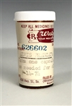 "Elvis Presleys Prescription Bottle for ""Dalmane"" Sedative"