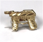 "Elvis Presley Owned 14K Gold ""Machine Gun"" Figural Ring Gifted to His Las Vegas Physician"