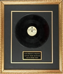 "Elvis Presleys Personal Copy of RCA Reference Recording 45 RPM Acetate of ""Are You Lonesome Tonight"" - Rescued from the Graceland Trash and Given to Elvis Cousin Donna Presley!"