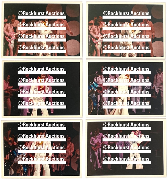"Group of 19 5x7 Inch Photos of Elvis Presleys January 14, 1973 ""Aloha From Hawaii"" Concert – Plus Six Photos From His  November 18, 1972 Concert in Honolulu- Given to Sonny West"