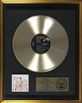 RIAA Gold Record Award for Elvis Presleys 1959 LP <em>50,000,000 Elvis Fans Cant Be Wrong: Elvis Gold Records, Volume 2</em> - Certified in 1966