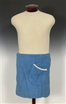 Elvis Presley Owned Blue Terry Cloth Cover Up From His Beverly Hills Home