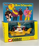 "1968 Corgi ""The Beatles Yellow Submarine"" Die-Cast Toy in Original Box - Incredibly High Grade Condition!"