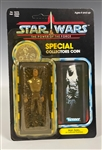 "1984 <em>Star Wars</em> Power of the Force ""Han Solo in Carbonite Chamber"" Action Figure - NM to MT on Card"