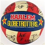 "1990s Harlem Globetrotters Team Signed Basketball with Curley ""Boo"" Johnson and Paul ""Showtime"" Gaffney and Others"
