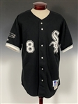 "1997 Albert Belle Chicago White Sox Game Used Road Uniform - With ""Nellie Fox"" Hall of Fame Patch"
