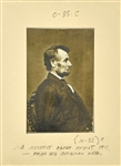 Collection of Six Photographs of Abraham Lincoln, John Wilkes Booth and The Fords Theatre – Incl. Meserve Print - Vintage Prints from the Lloyd Ostendorf Collection