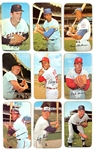1971 Topps Baseball Super Near Set (49/63) with Rose, Mays, Brock, Yastrzemski and Seaver