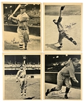 1934 R310 Butterfinger Premiums Collection of Five with Leo Durocher, Earl Averill and Dazzy Vance