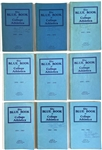 1950s to 1990s <em>Blue Book of College Athletics</em> Collection of 39 Issues