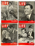 1930s to 1940s <em>LIFE</em> Magazine Collection of 21 with Clark Gable, Lana Turner and Ginger Rogers Covers