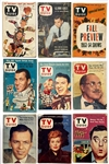 Incredibly Extensive 1950s to 1970s <em>TV GUIDE</em> Collection of 532 Issues - with 134 Copies of Main Predecessor <em>TV FORECAST</em>