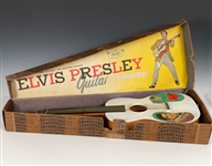 "1956 Elvis Presley Enterprises ""EMENEE"" Six-String Toy Guitar with Original Box"