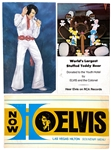 Collection of 29 Elvis Presley Concert Tour Menus and Souvenir Photos