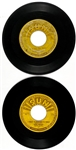 "Pair of Elvis Presley Sun Records 45 RPM Singles – Sun 217 ""Im Left, Youre Right, Shes Gone"" and 223 ""Mystery Train"""