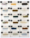 Collection of 22 Elvis Presley Clothing Swatches from His 1971 LP <em>Elvis: The Other Sides - Worldwide Gold Award Hits Vol. 2</em>