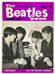 """The Beatles Book Monthly"" No. 4 (1963) Signed by All Four Beatles at November 1963 Concert in Slough, England"