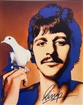 Ringo Starr Signed 8 x 10 Richard Avedon Photo