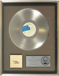 1977 RIAA Plartinum Record Award for The Beatles LP <em>The Beatles at the Hollywood Bowl</em>– Certified in 1977