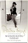 "Pattie Boyd (The Real Life ""Layla"") Signed Hardback  Autobiography - <em>Wonderful Today</em>"