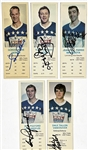 1970 Dads Cookies Hockey Collection with Signed Gordie Howe (and 4 Others) - 228 Total Cards with Near Set (141/144 )