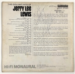 "Jerry Lee Lewis Signed ""Promotional Copy"" of his 1964 LP <em>The Golden Hits of Jerry Lee Lewis</em>"