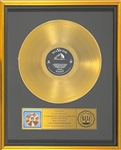 RiAA Gold Record Award for Elvis Presleys 1963 LP <em>Elvis Golden Records Vol. 3</em>