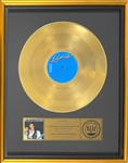 RIAA Gold Record Award for Elvis Presleys 1977 LP <em>Elvis in Concert</em> - Certified in 1977