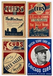 Group of 17 Chicago Cubs 1920s -1940s Scorecards, Program and Ticket Stub