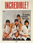 "1966 ""Butcher Cover"" Beatles <em>Yesterday and Today</em> Capitol Records Promotional Poster – Stunning Condition!"