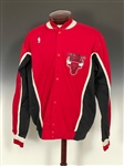 Sam Vincent 1988-89 Chicago Bulls Game-Issued Full Warm Up Suit