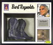Burt Reynolds Screen-Worn Cowboy Boots from the 1996 Film <em>Striptease</em>