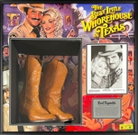 Burt Reynolds Cowboy Boots Worn in the Movie Best Little Whore..