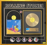 RIAA Gold Record Award for Rolling Stones 1982 Live LP <em>Still Life</em> - Awarded to Brian Krysz