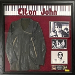 Elton John Owned Leather Jacket Worn on the Cover His 1971 LP <em>Tumbleweed Connection</em>