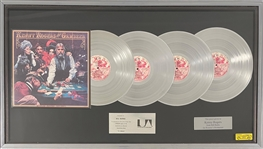 Kenny Rogers United Artists Records Multi-Platinum Record Award for His 1978 LP <em>The Gambler</em>