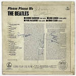 John Lennon and Paul McCartney Signed Copy of The Beatles 1963 LP <em>Please Please Me</em>