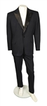 Elvis Presley Owned Custom Black Three-Piece Tuxedo Made for His 1969 Film <em>The Trouble with Girls</em> - with Graceland Authenticated LOA