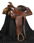 "Elvis Presleys Saddle Used at Graceland and His ""Circle G"" Ranch – Made by Mike McGregor - with Graceland Authenticated LOA"