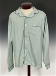 "Elvis Presley Owned ""Munsingwear"" Mint Green Pajama Set - Elvis Favorite Brand of Pajamas!"