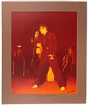 Terry Wood Limited Edition 16x20 Photo of Elvis Presley on Stage in Tupelo, Mississippi in 1956 - #56/1000!