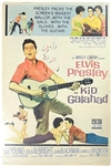 1962 <em>Kid Galahad</em> 40 x 60 Inch Movie Poster – Starring Elvis Presley