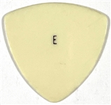 "Elvis Presley White ""E"" Guitar Pick with Graceland Authenticated LOA"