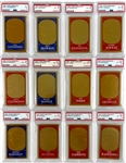 High Grade 1965 Topps  Embossed Complete Set of 72 with 26 Graded Including Mickey Mantle