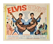 1967 <em>Double Trouble</em> Half Sheet Movie Poster - Starring Elvis Presley
